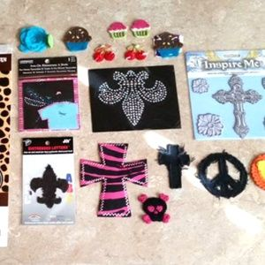 Iron On Patch & Sew on Patch's Lot New Cross LOT